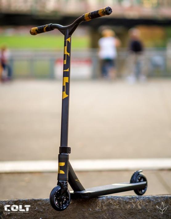Envy Series 3 Colt Scooter (Gold/Black) - ProScootersMart