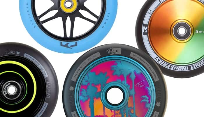 build your own scooter wheels