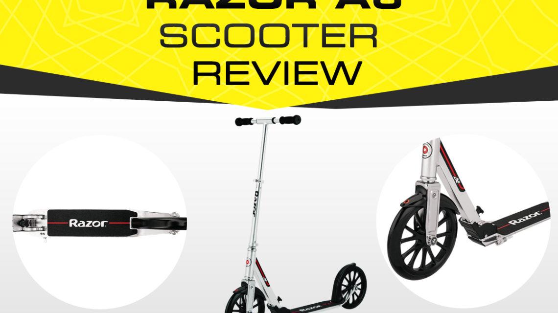 Razor A6 Kick Scooter Review