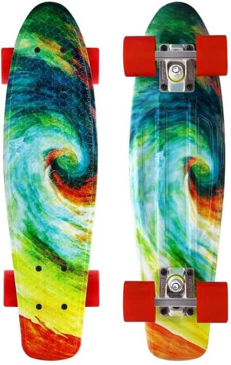 M Merkapa Complete Cruiser Skateboard