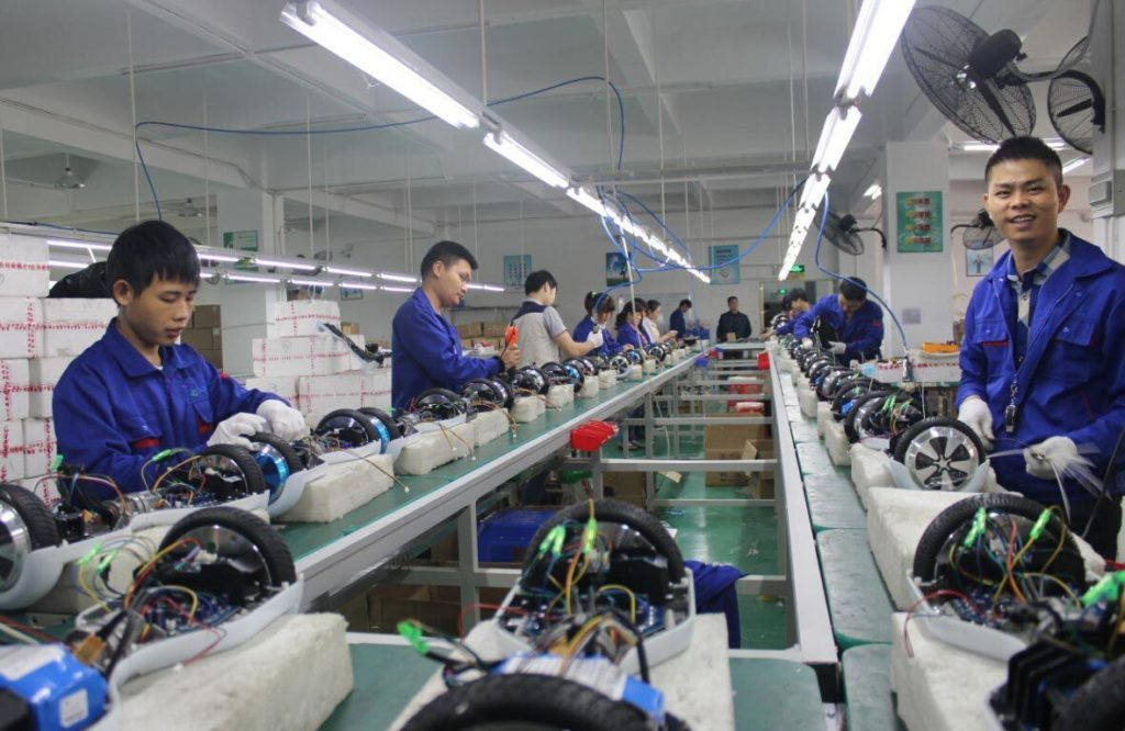 hoverboard factory