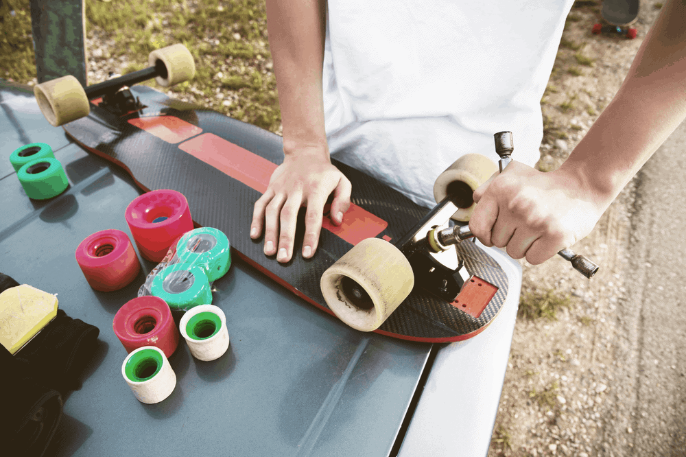 maintain your longboard