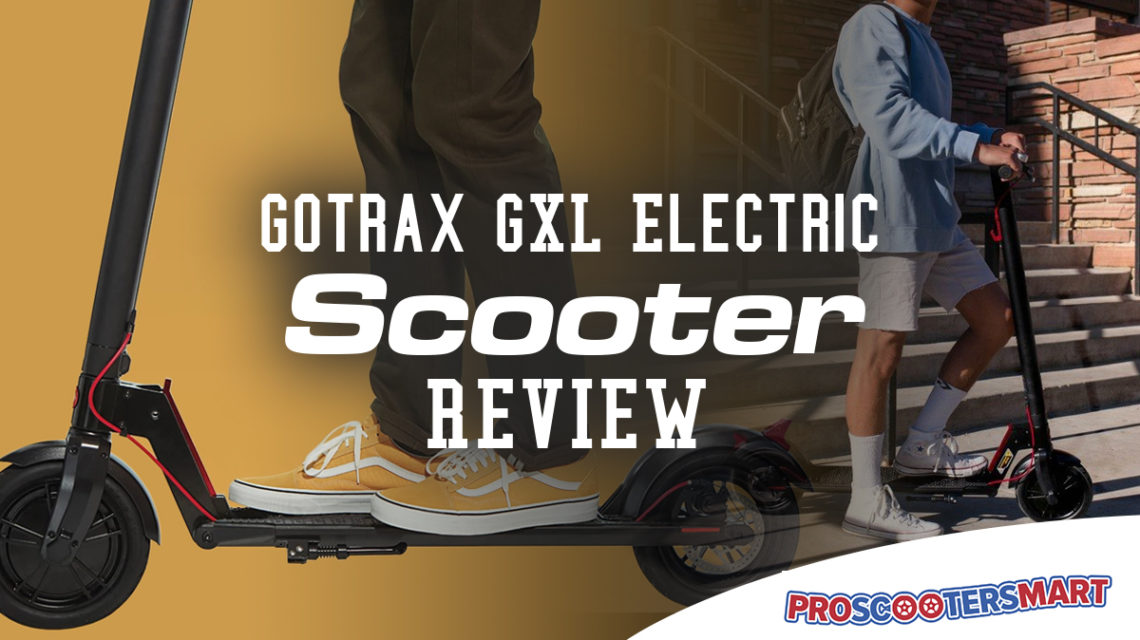 gotrax gxl scooter review