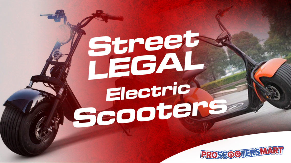 street legal electric scooters