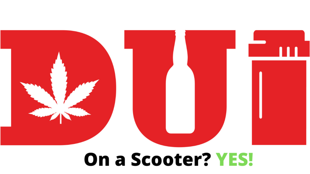 Can you get a dui on a scooter?