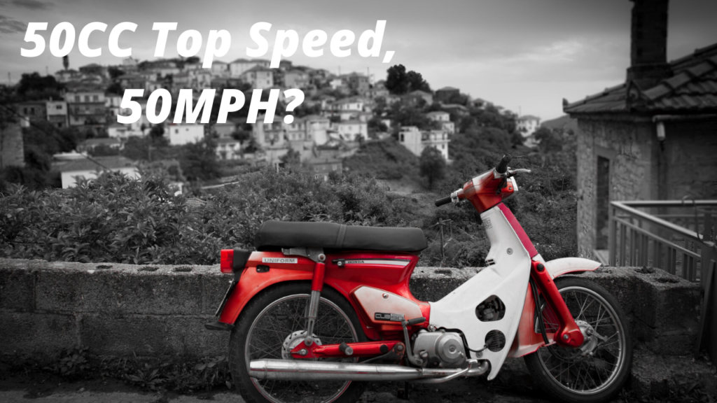 top speed for 50cc scooter