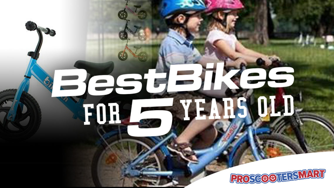 best bikes for 5 year olds