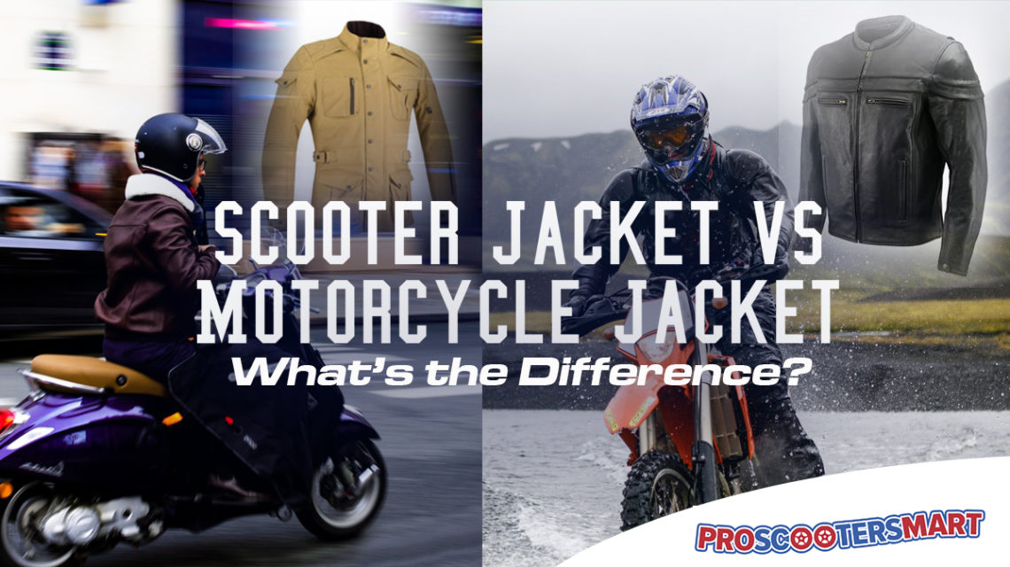 scooter jackets vs motorcycle jackets