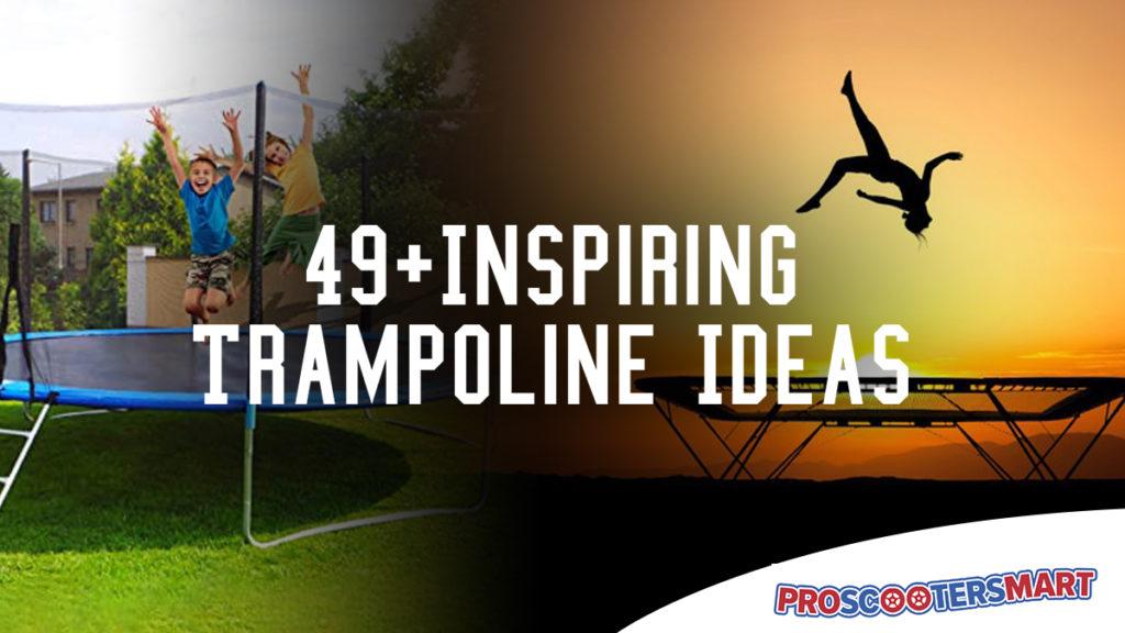 49 trampoline ideas