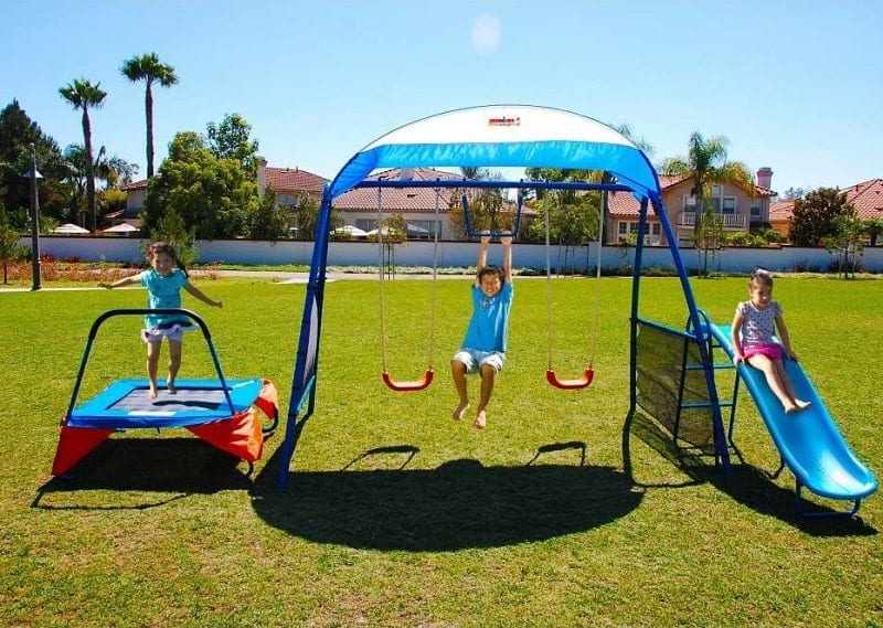 IRON KIDS Premier 100 Fitness Playground